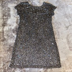 Adrianna Papell Beaded Sequin Dress, 20W